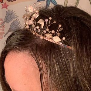 """Accessories - SPARKLING Rose Gold """"Twisting Branches"""" Tiara!"""